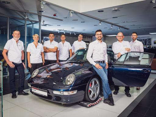 Ihr zertifizierter Porsche Classic Partner.