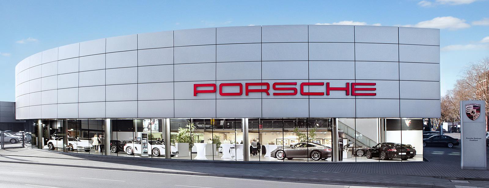 Centre Porsche Francfort